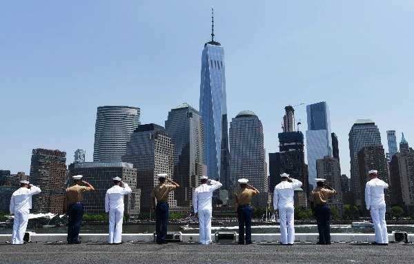 fleet week service one world