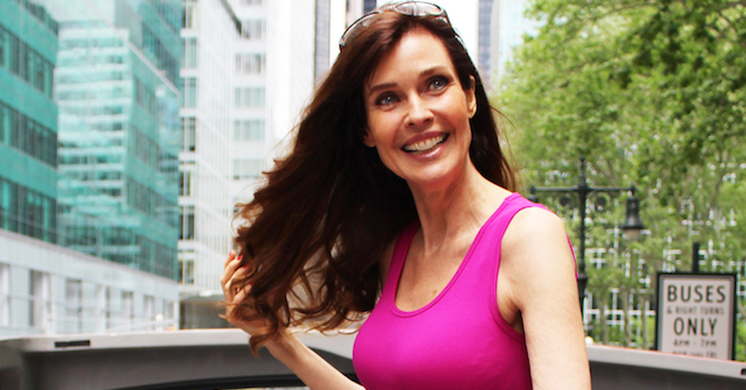 Carol Alt Takes the Ride of Fame