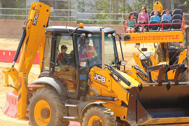 Diggerland Backhoe Adventure