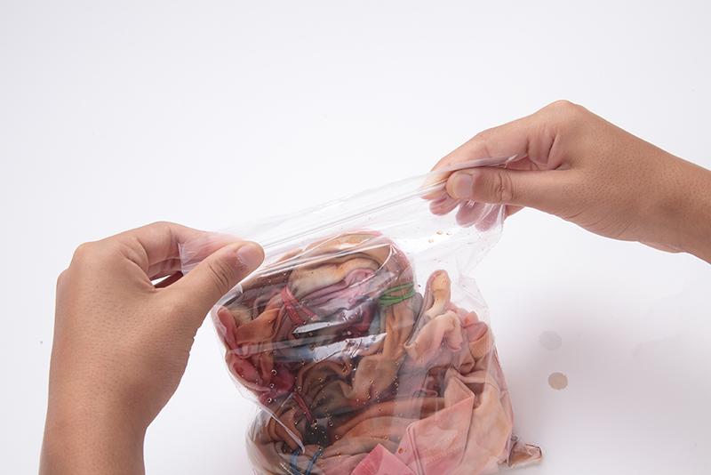 food coloring tie-dye step 6