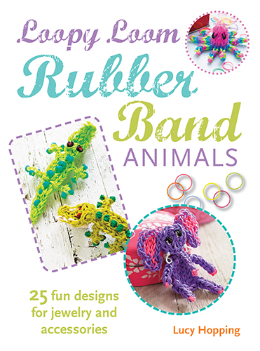 loopy loom rubber band animals cover