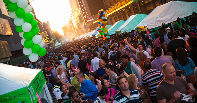 Taste of Times Square Sizzles in Midtown
