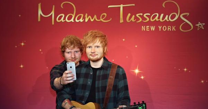Ed Sheeran Debuts at Madame Tussauds New York