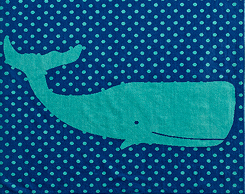 Bed Bath and Beyond Whale Beach Towel