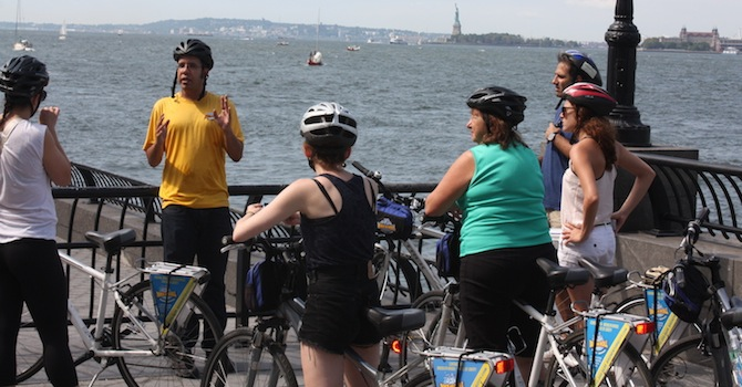 Get $10 Off Your Next Bike and Roll NYC Tour