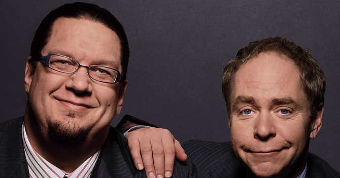 Penn & Teller: Naughty, Nice and Back on Broadway