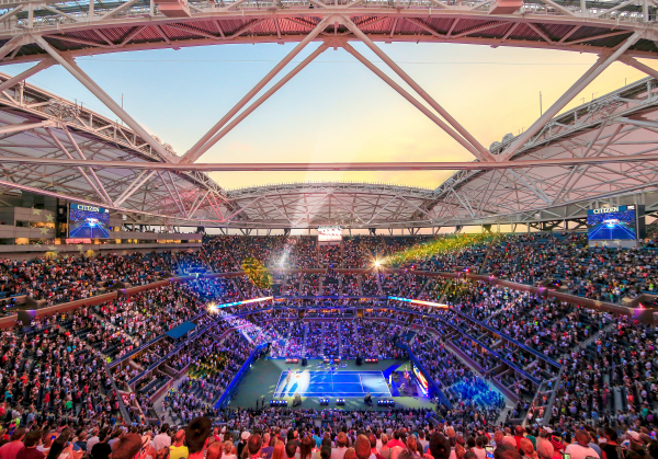 us open 2016 new grandstand