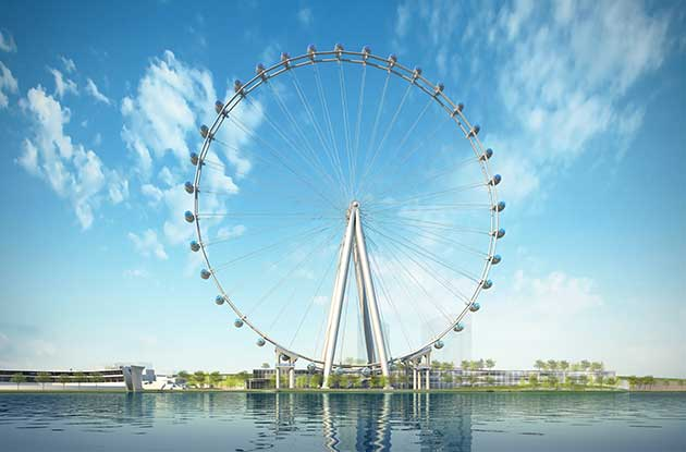 New York Wheel: Rendering