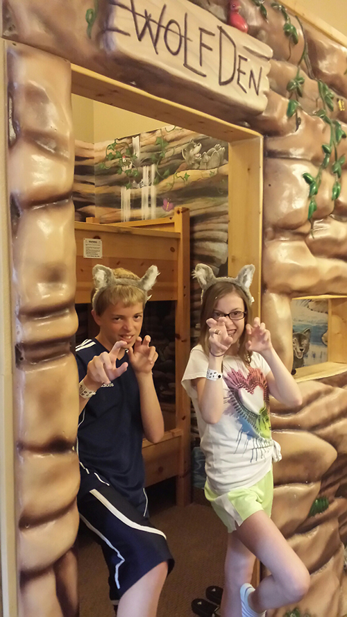 great wolf lodge wolf den family suite