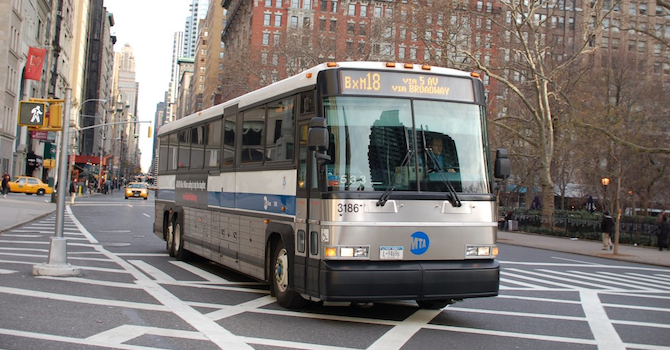 Getting Around: New York City Bus Tips