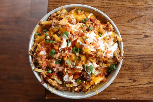 loaded fries at brother jimmy's