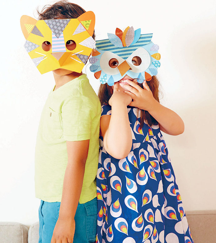 Halloween crafts to do with kids ny metro parents magazine for Mask craft for kids