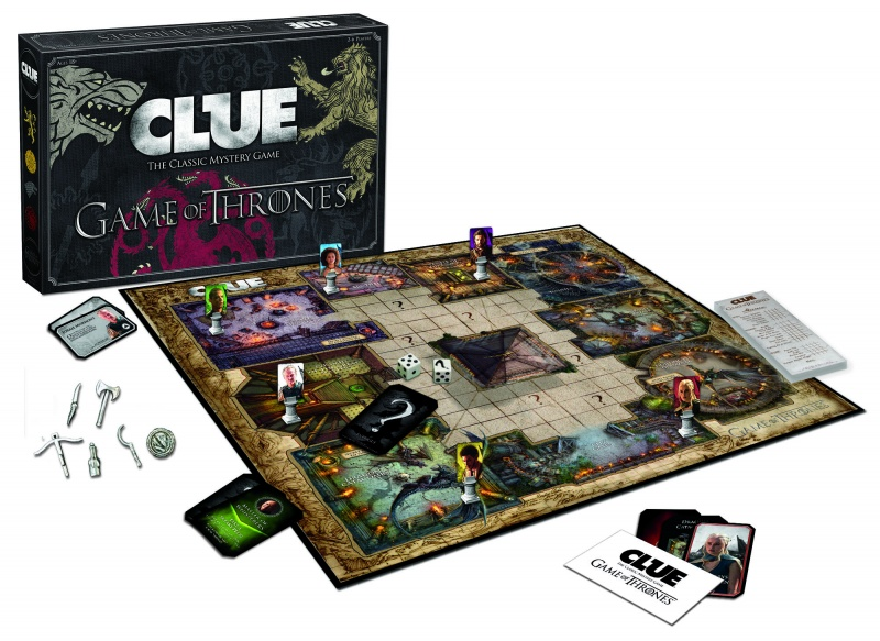 game of thrones clue hbo shop