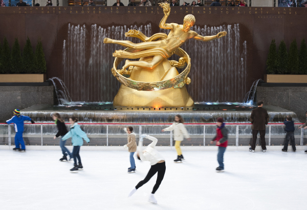 the rink at rockefeller center reopens