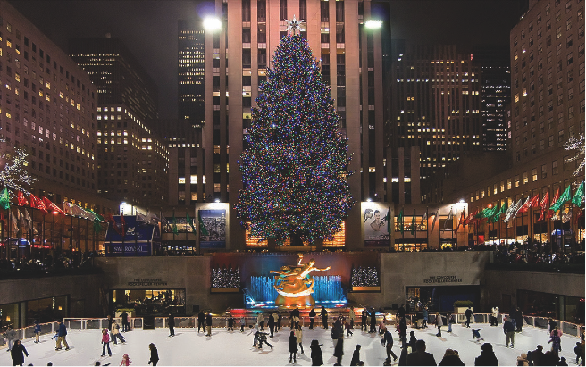 christmas tree lighting rockefeller center - Things To Do In Nyc During Christmas