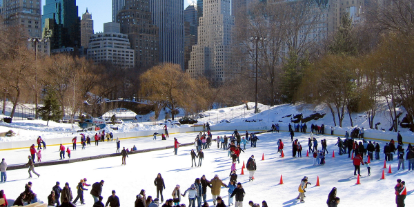 ice skating nyc wollman
