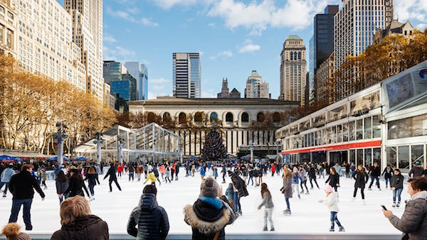 Bryant Park's Winter Village