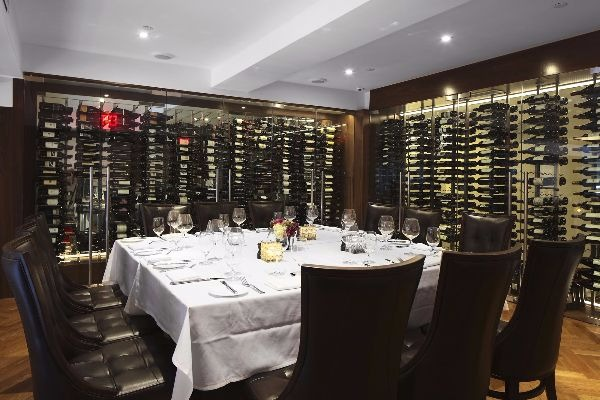 benjamin steakhouse prime wine room private parties