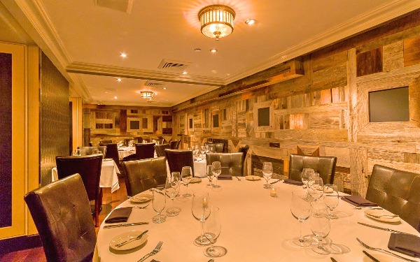 oak room private parties angus club steakhouse