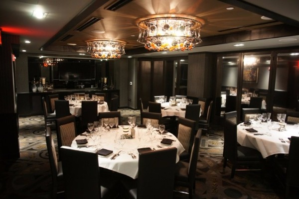 morton's world trade steak private dining