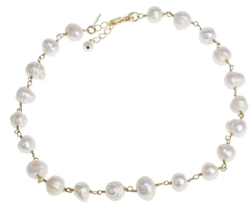 freshwater pearl necklace gale grant