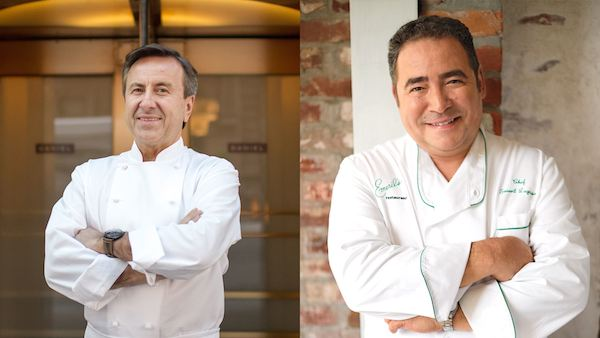 Cafe Boulud Chef Aaron Emeril Lagasse
