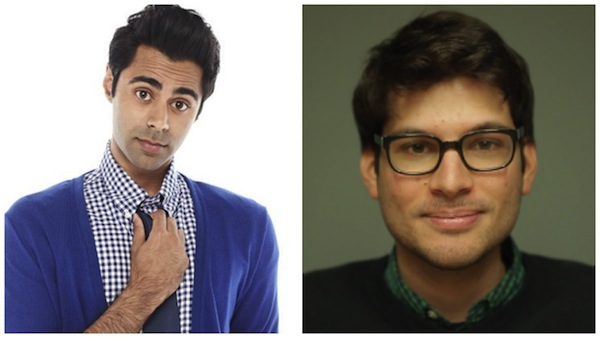 Hasan Minhaj and Sal Gentile