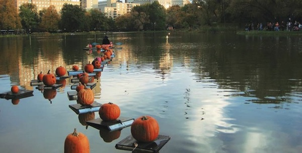 Halloween Parade and Pumpkin Flotilla, Central Park