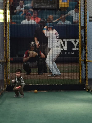 Mets batter and boy from Whitestone, Queens, NYC
