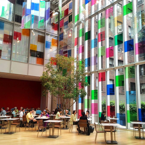 An interior view of Morgan Library & Museum.