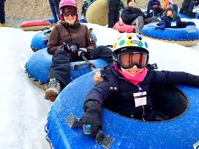 Snow Tubing at Camelback Resort