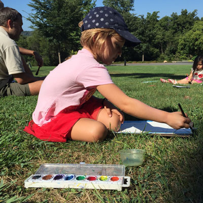 Family Art Project at Wave Hill