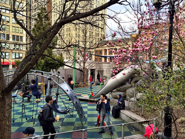 Union Square Park Playground