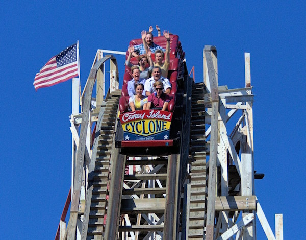 Cyclone luna park for Things to do in nyc now