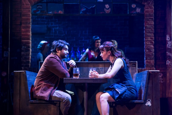 Alex Brightman and Sierra Boggess, School of Rock, by Matthew Murphy