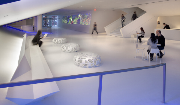 museum of the moving image lobby
