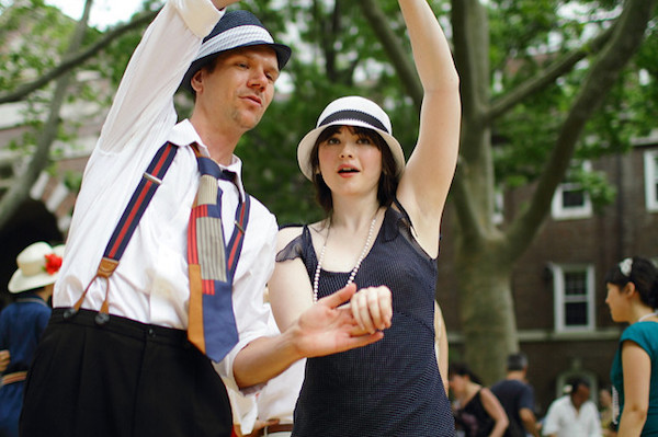 Jazz age lawn party for Things to do nyc this weekend