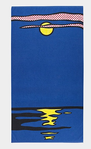 Roy Lichtenstein towel at MoMA Design Store