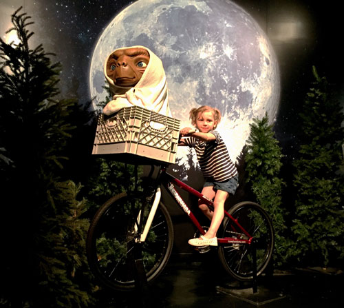 ET at Madame Tussauds NYC