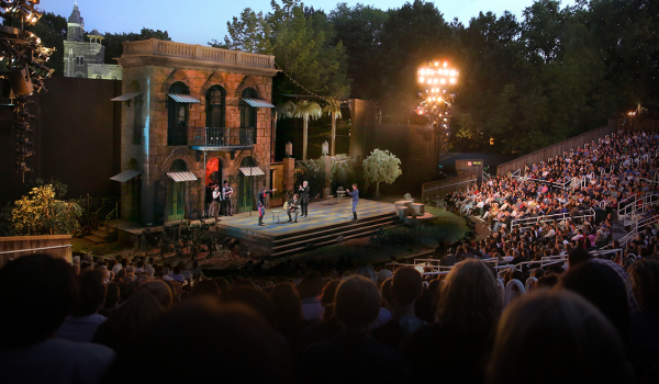 delacorte theater shakespeare park