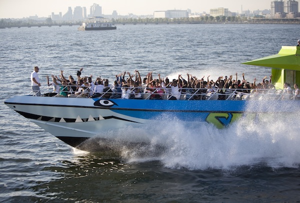 shark speedboat summer nyc