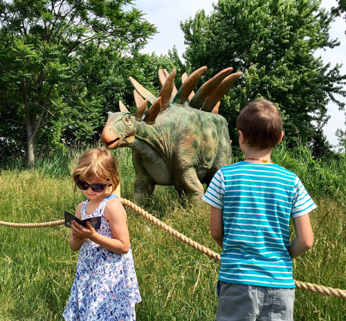 Seeing dinosaurs at Field Station: Dinosaurs