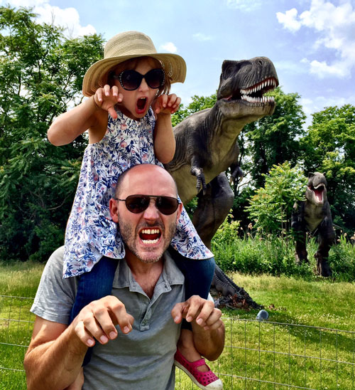 Fun at the new Field Station: Dinosaurs