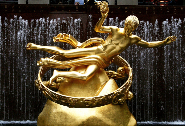 prometheus rockefeller center