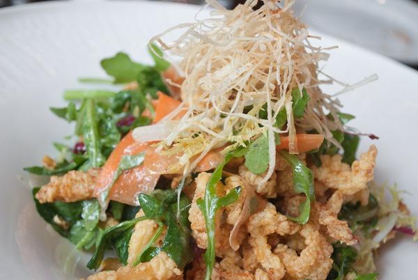 crispy fried clam watercress Ed's Chowder House