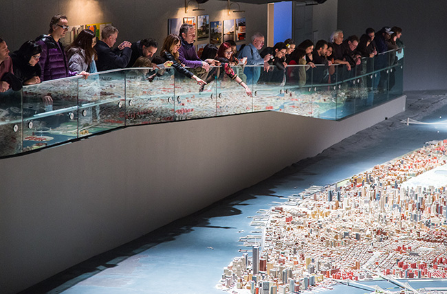 Panorama of the City of New York at Queens Museum