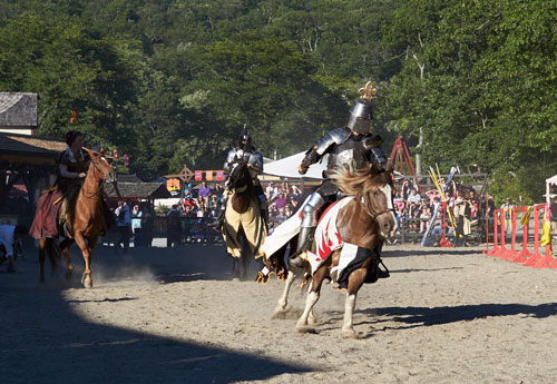 Jousting at the NY Renaissance Faire