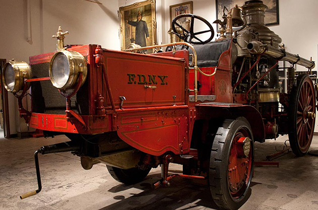NYC Fire Museum American-LaFrance Tractor Steamer