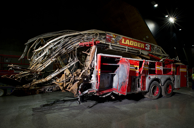 Ladder 3 at 9/11 Memorial Museum