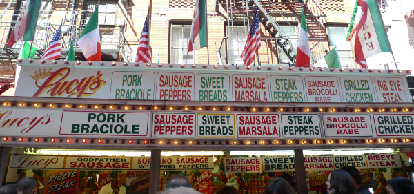 san gennaro feast eat